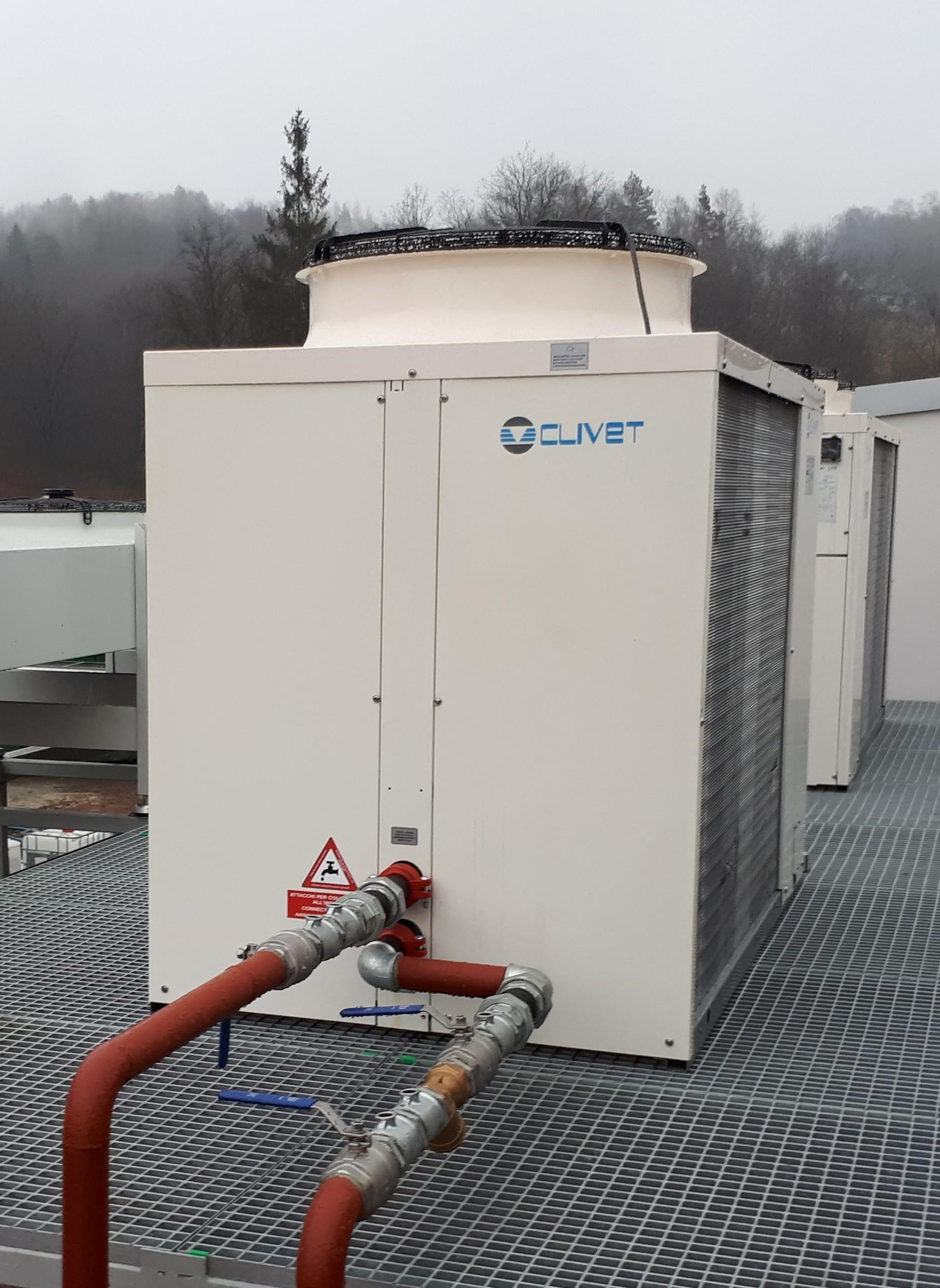 Urządzenia do chłodzenia wody - Agregat chłodniczy